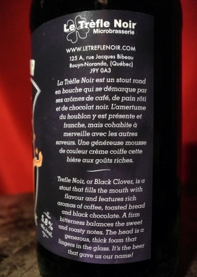 2017-04-01 - 100 - Trefle Noir Stout description _500beers