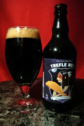 2017-04-01 - 100 - Trefle Noir Stout poured _500beers