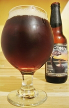 2017-05-04 - 136 - Brasseurs RJ Lochness poured _500beers