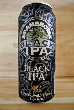 2017-05-14 - 145 - St. Ambroise Black IPA tin _500beers
