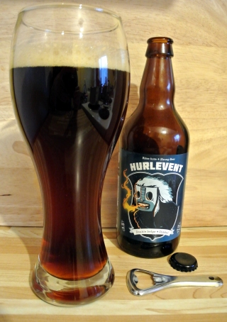 2017-05-16 - 147 - Le Trefle Noir Hurlevent poured. _500beers