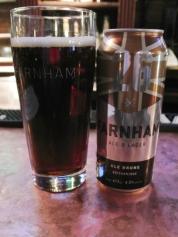 2017-04-02 - 39 - Farnham Brown Ale poured _500beers