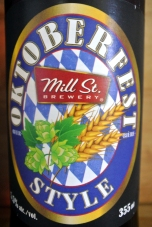 2017-06-15 - 191 - Mill St. Brewery Oktoberfest Style _500beers
