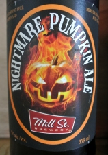 2017-06-15 - 192 - Mill St. Brewery Nightmare Pumpkin Ale _500beers