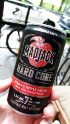 2017-07-08 - 222 - Mad Jack Hard Core Strong Apple Lager _500beers