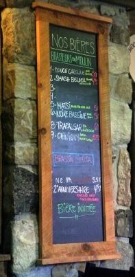 2017-07-29 - Brasseurs du Moulin menu _Beloeil _500beers
