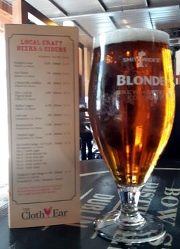 2017-05-20 - 156 - Smithwicks Blonde Ale _500beers _belfast