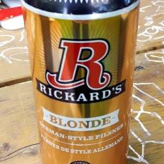 2017-05-27 - 168 - Rickard's Blonde _500beers