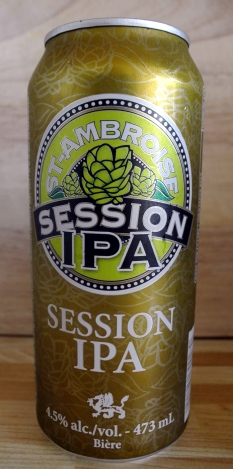 2017-06-11 - 188 - St. Ambroise Session IPA _500beers