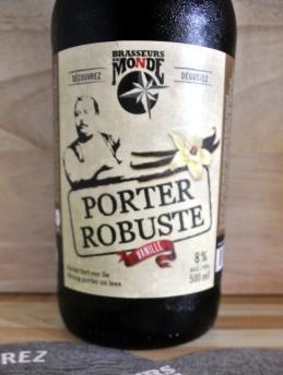 2017-08-18 - 288 - Brasseurs du Monde Porter Robuste Vanille _500beers
