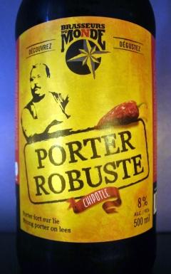 2017-09-03 - 330 - Brasseurs du Monde Porter Robuste Chipotle _500beers