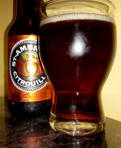 2017-10-10 - 392 - St. Ambroise Citrouille poured _500beers
