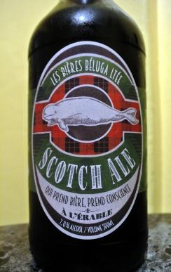 2017-10-15 - 400 - Les Bière Béluga Scotch Ale à l'érable _500beers