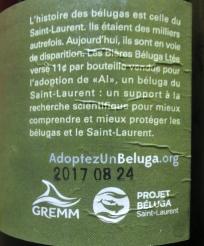 2017-10-15 - 400 - Les Bière Béluga Scotch Ale à l'érable about Al _500beers