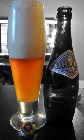 2017-10-22 - 407 - Orval poured _500beers