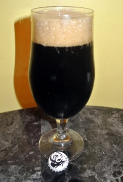 2017-10-23 - 408 - Young's Double Chocolate Stout poured _500beers