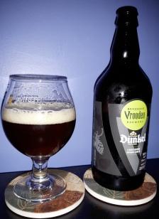 2017-12-02 - 467 - Vrooden Dunkel poured _500beers