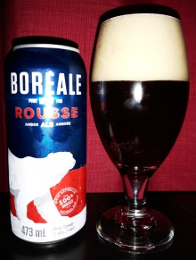 2017-01-02 - 2 - Boréale Rousse poured _500beers - march 2018