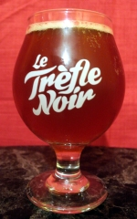 2017-10-29 - 418 - Le Trefle Noir Ale-ô-ween poured _500beers