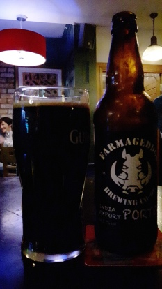 2017-05-19 - 152 - Farmageddon India Export Porter poured _500beers
