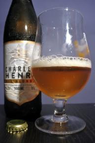2017-09-19 - 356 - Les 2 Frêres Charles Henri Blonde poured _500beers