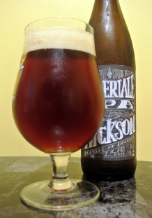 2017-10-15 - 398 - Les 2 Frêres Hickson Imperial IPA poured _500beers